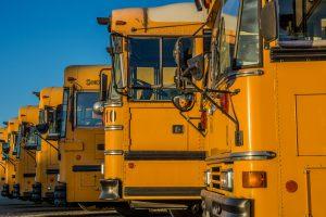 Public Schools schools Weather Make-Up Days: yellow school bus's