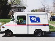 thanksgiving Memorial Day: mail truck